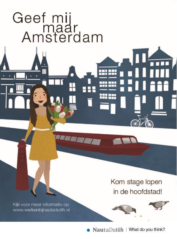 Advertentie stagelopen Amsterdam