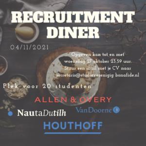 Recruitmentdiner