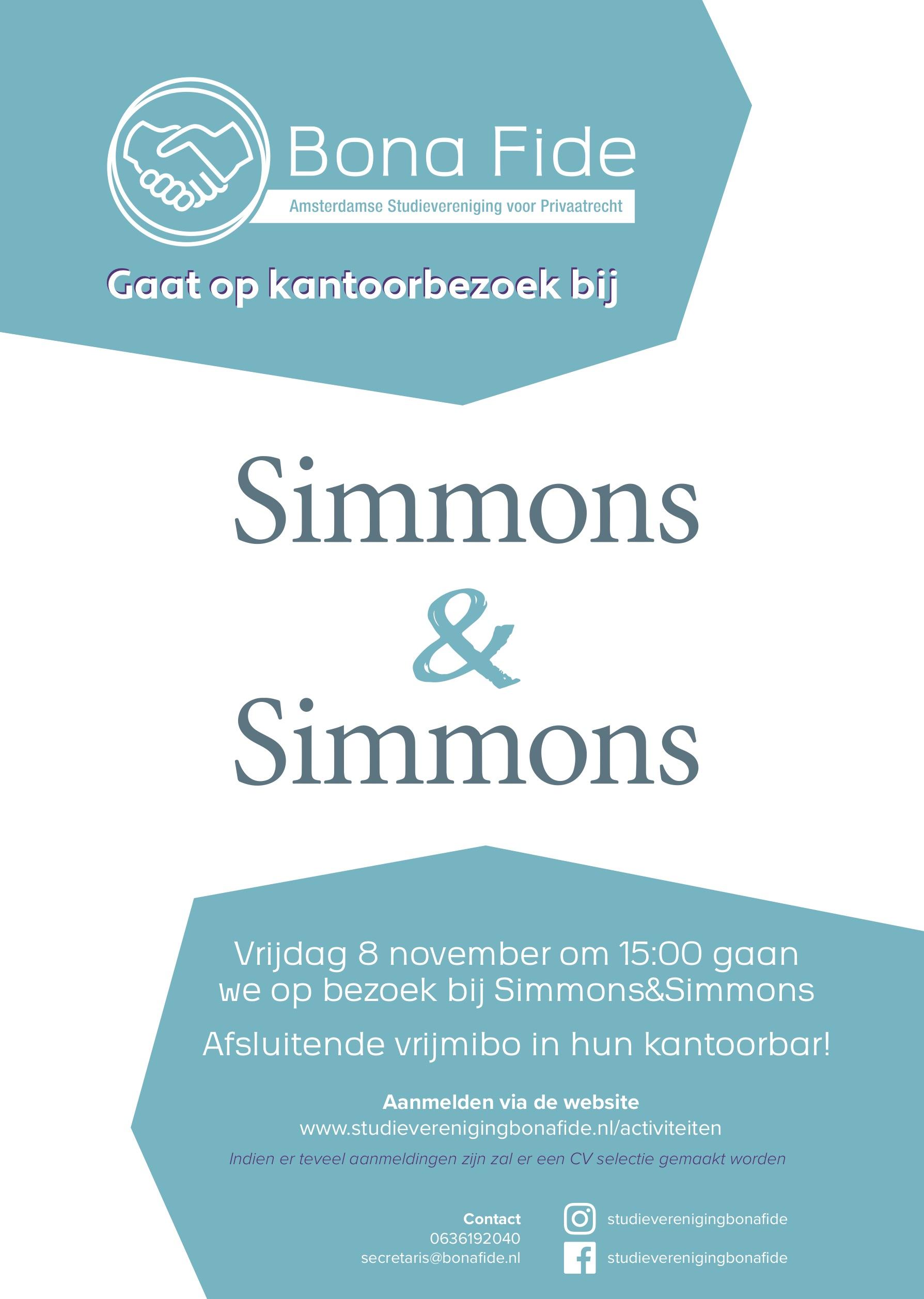 S&S kantoorbezoek poster A3